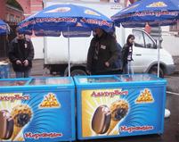 мороженое оптом - точки продаж