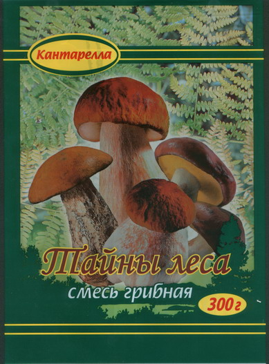 Кантарелла - смесь грибная Тайны леса