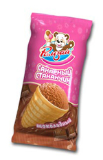 Фабрика мороженого - мороженое стаканчик
